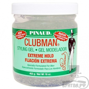 Clubman Extreme Hold Styling Gel