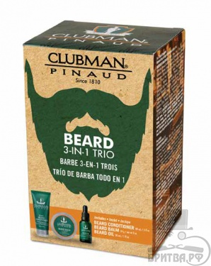 Clubman Beard 3-in-1Trio