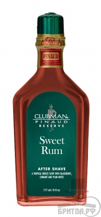 Clubman Reserve Sweet Rum After Shave Lotion