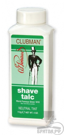 Clubman Shave Talc